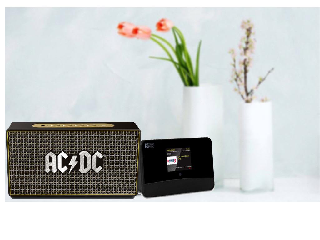 Topmoderne Multi-mini-lydsystem – trådløs høyttaler med Internett-radio, DAB+ CB-76